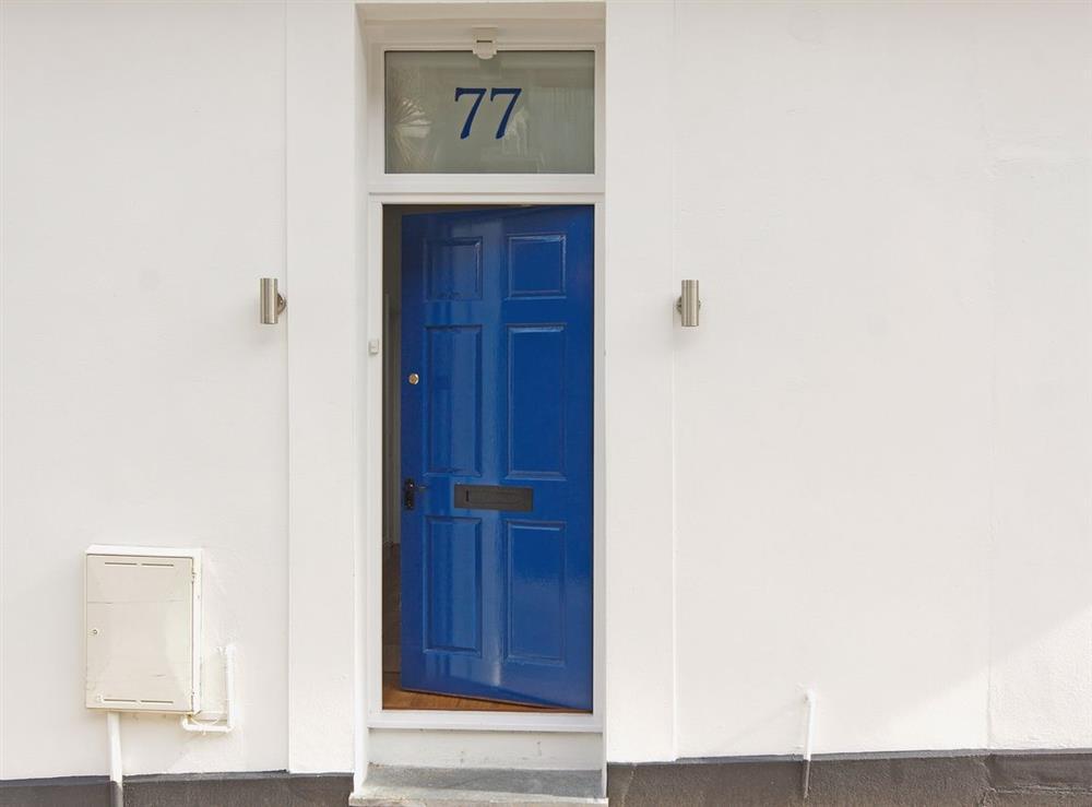 Exterior at Above Town 77 in Dartmouth, Devon