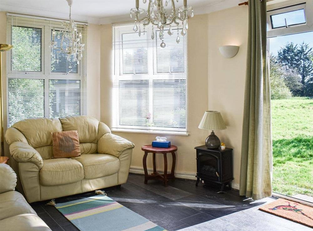 Living room at Ace Lodge in Roydon, Essex