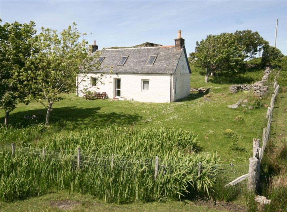 Exterior at Achd in Drumbeg, by Lochinver, Sutherland