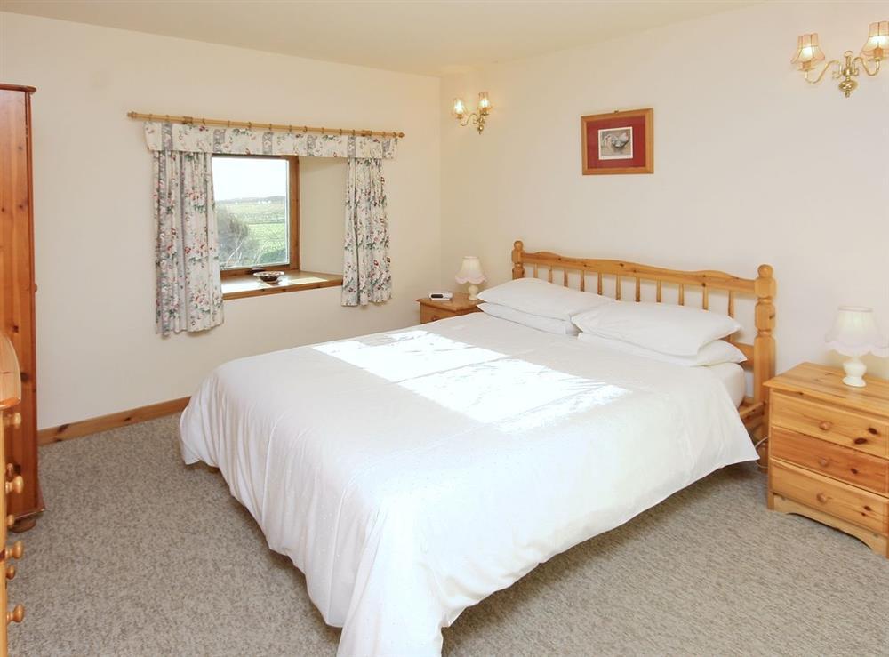 Double bedroom at Achue Croft Cottage in Bonar Bridge, Ross-Shire