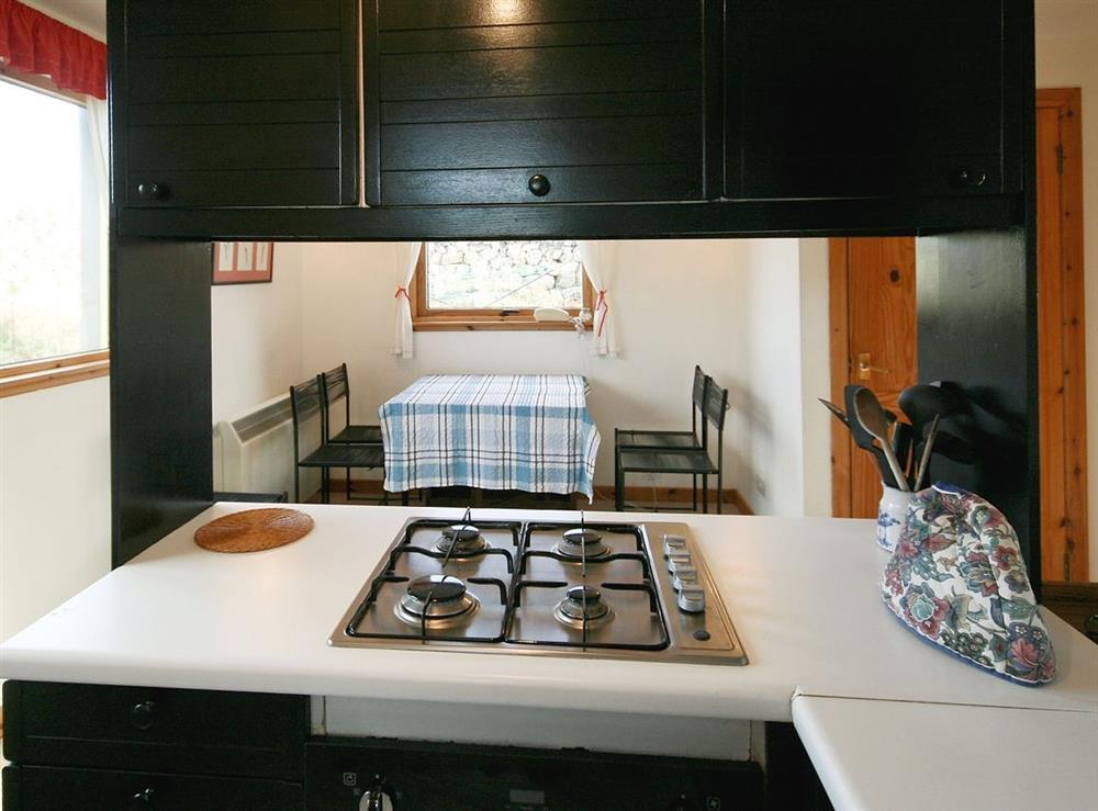 Kitchen/diner at Achue Croft Cottage in Bonar Bridge, Ross-Shire