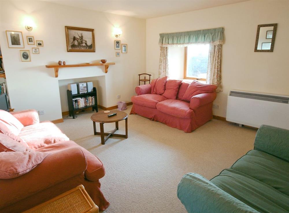 Living room at Achue Croft Cottage in Bonar Bridge, Ross-Shire