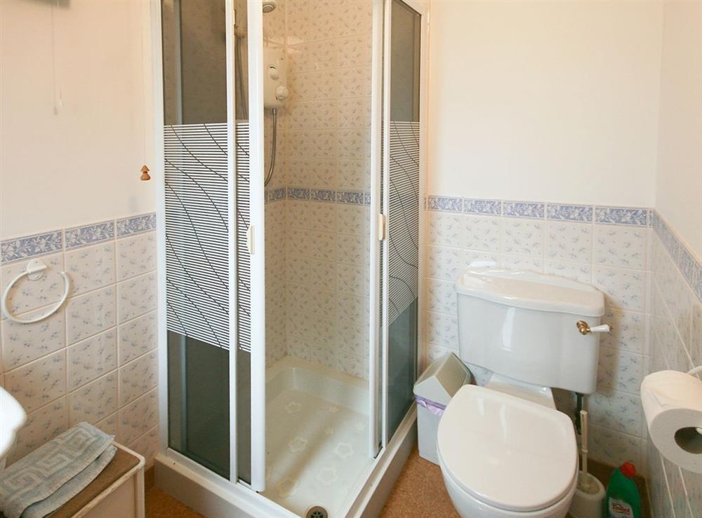 Shower room at Achue Croft Cottage in Bonar Bridge, Ross-Shire