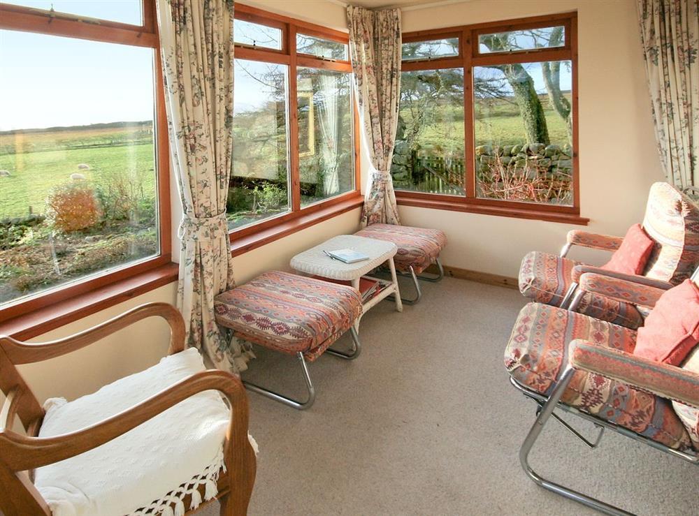 sun room at Achue Croft Cottage in Bonar Bridge, Ross-Shire