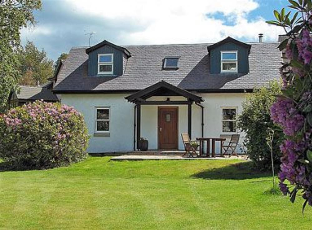 Exterior at Acorn Cottage in Kippen, near Stirling, Stirlingshire., Great Britain
