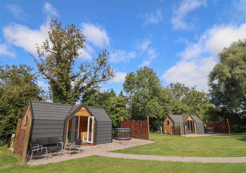 This is the setting of Acorn Lodge at Acorn Lodge, Chacombe