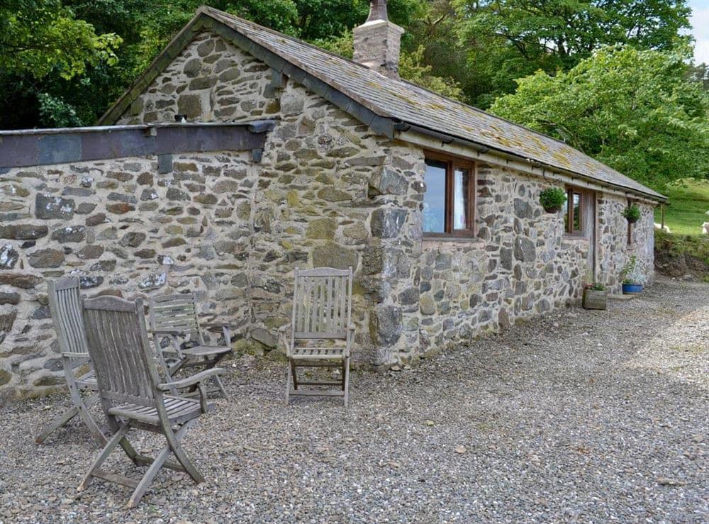Exterior at Aelwyd Ucha Lodge in Cwm, near Dyserth, Denbighshire
