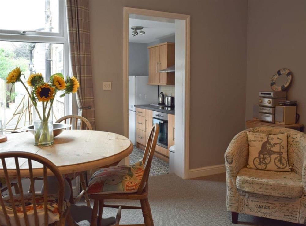 Dining area at Albion Cottage in Pakefield, near Lowestoft, Suffolk