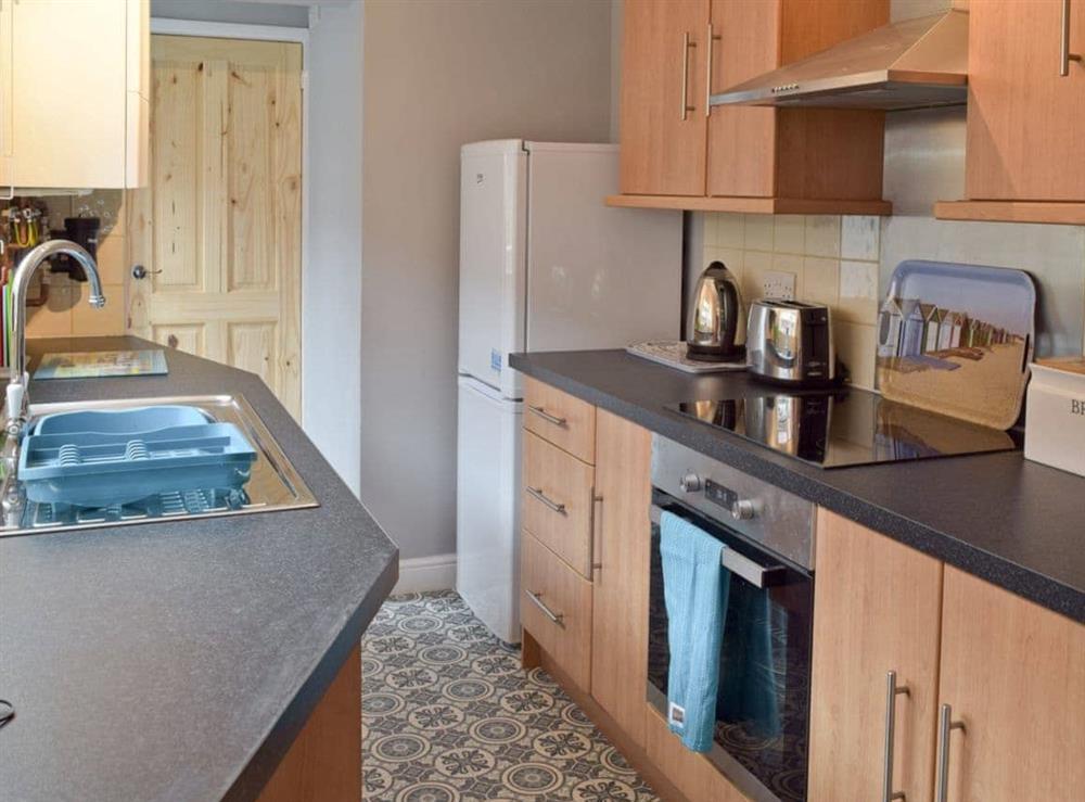Kitchen at Albion Cottage in Pakefield, near Lowestoft, Suffolk