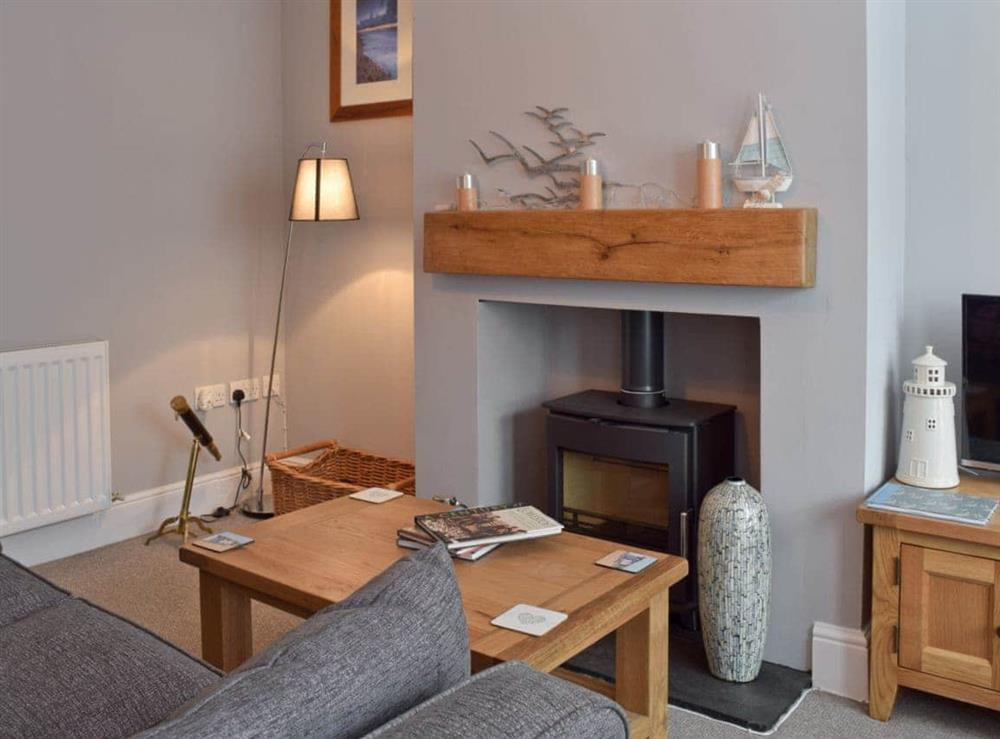 Living room at Albion Cottage in Pakefield, near Lowestoft, Suffolk