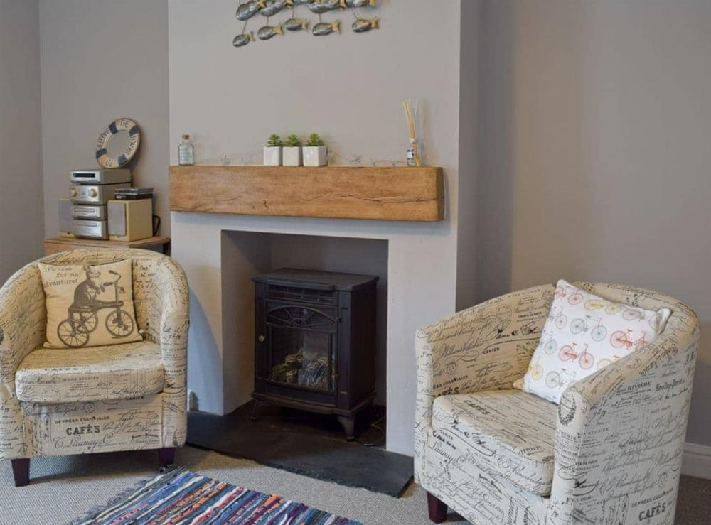 Sitting room at Albion Cottage in Pakefield, near Lowestoft, Suffolk