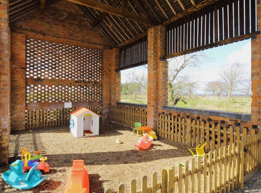 Children's play area at Emmas Dairy,