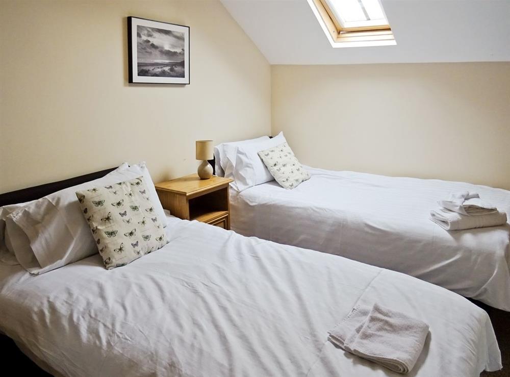 Twin bedroom at Emmas Dairy,