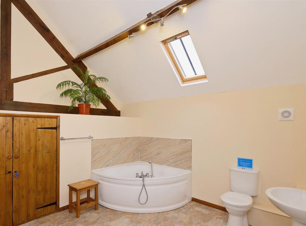 Bathroom at Jamess Parlour,