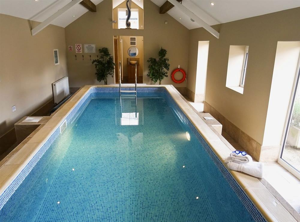 Swimming pool at Jamess Parlour,