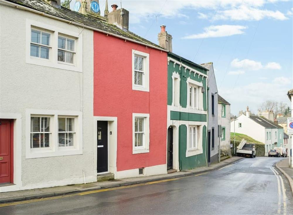 Traditional Cumbrian terraced holiday home close to the town centre at All Saints View in Cockermouth, Cumbria