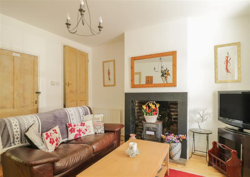The living area at All Saints View, Cockermouth