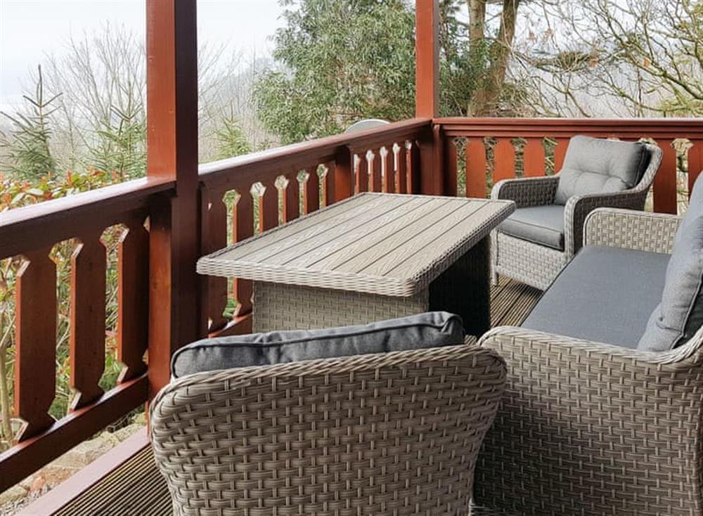 Peaceful decking area