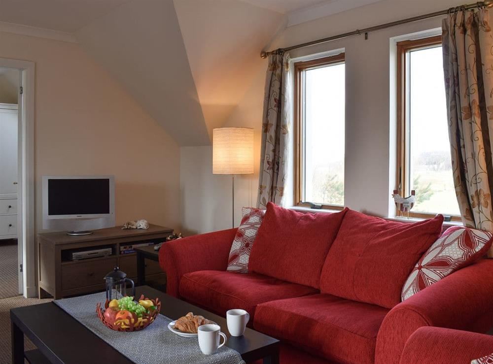 Living room at Alt-Na-Caimbe Apartment in Arisaig, Inverness-Shire