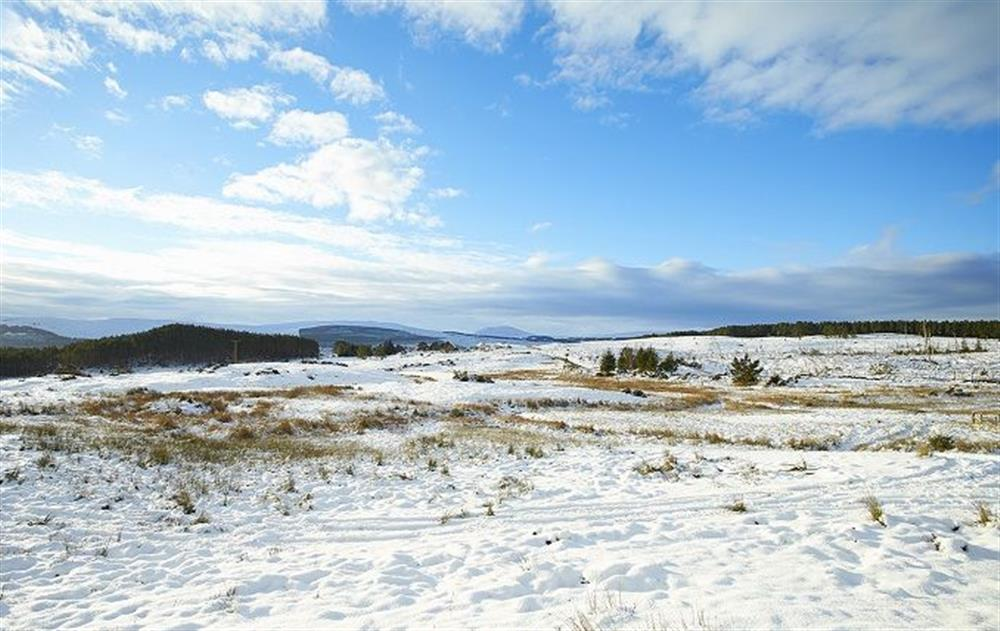 The property is surrounded by wild croft land and open skies (photo 3) at Am Bathach, Sutherland