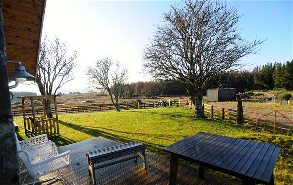 The property is surrounded by wild croft land and open skies (photo 5) at Am Bathach, Sutherland
