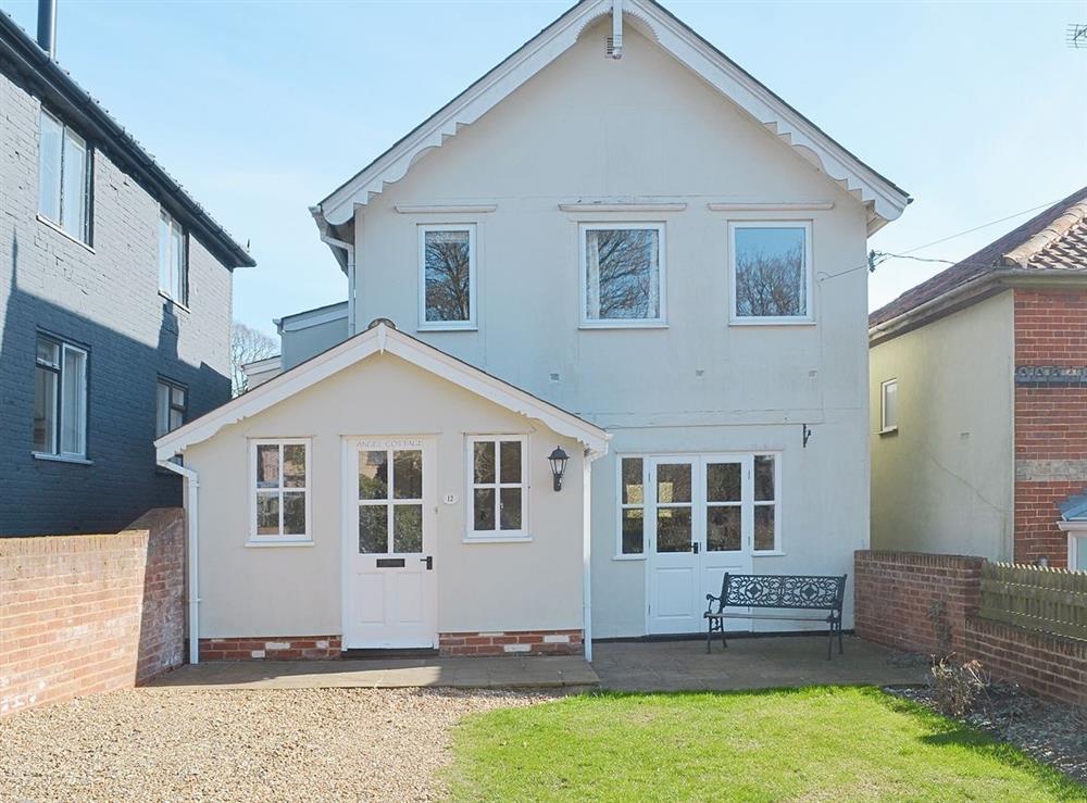 Exterior at Angel Cottage in Halesworth, Suffolk