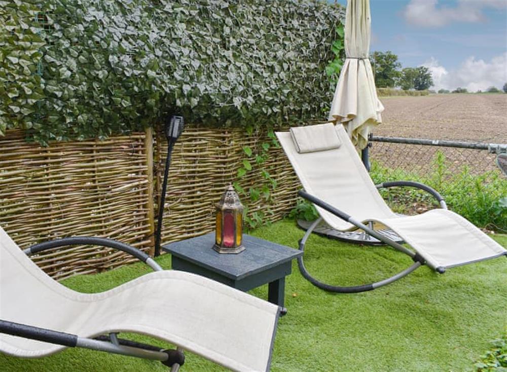 Relaxing outdoor space