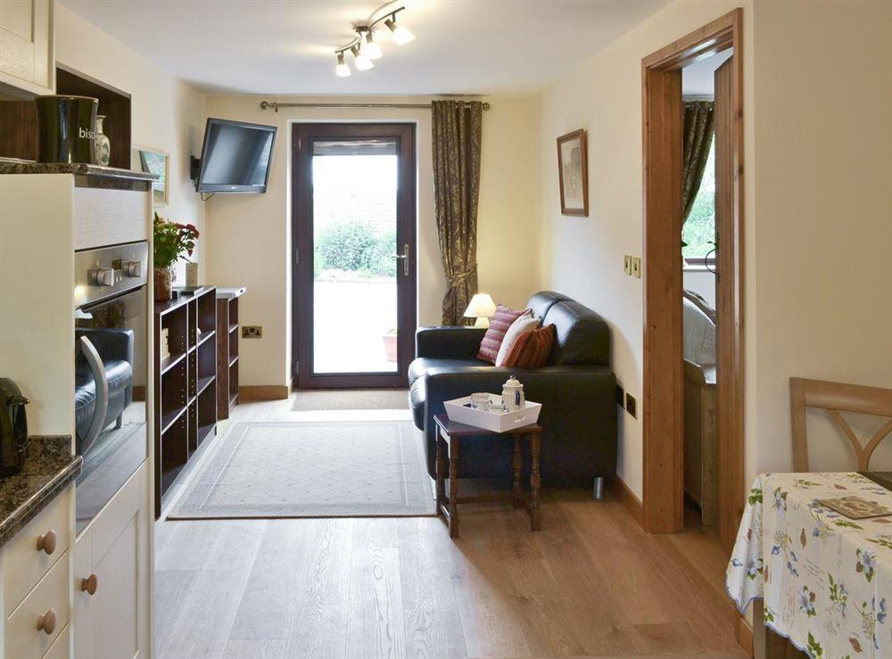 Open plan living space at Annexe at Church Farm Barn in Ingham, near Stalham, Norfolk