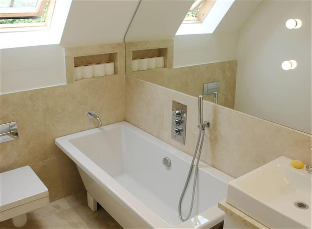 Bathroom at Antells Farm Barn in Sturminster Newton, Dorset