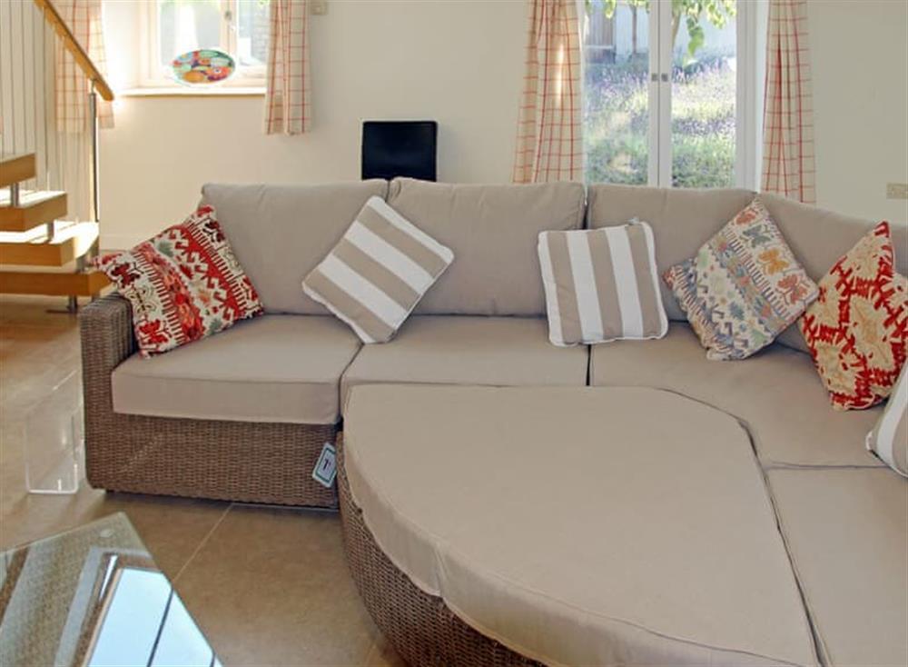 Comfortable living area at Antells Farm Barn in Sturminster Newton, Dorset