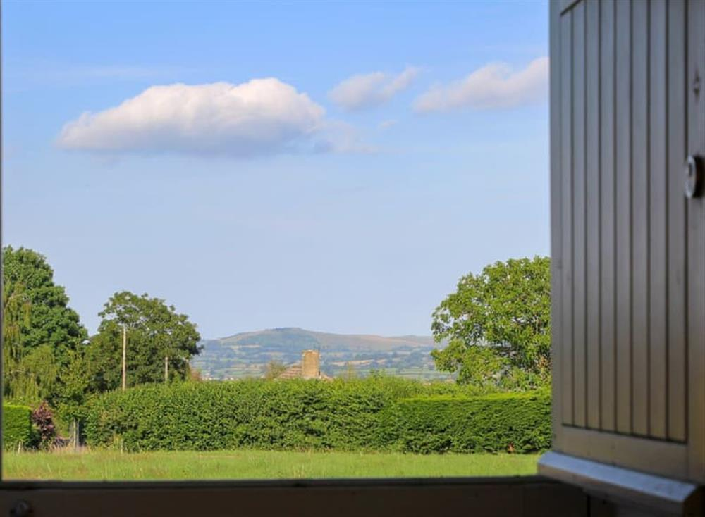Wonderful countryside views at Antells Farm Barn in Sturminster Newton, Dorset