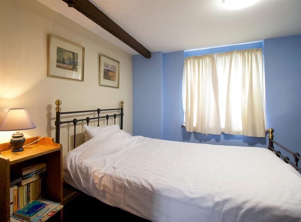 Comfortable double bedroom at Anvil Cottage in Twyford, near Shaftesbury, Dorset