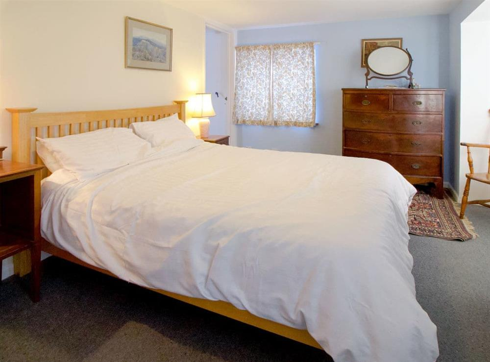 Double bedroom at Anvil Cottage in Twyford, near Shaftesbury, Dorset