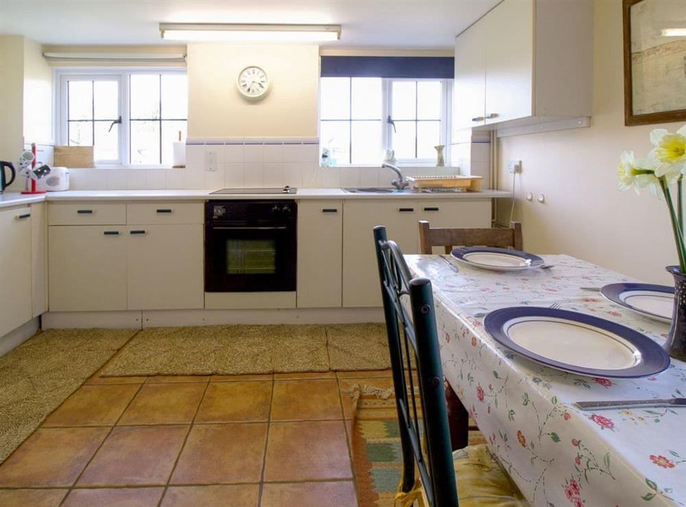 Well equipped kitchen/ dining room (photo 2) at Anvil Cottage in Twyford, near Shaftesbury, Dorset