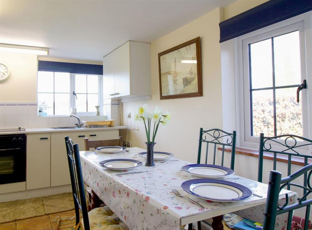 Well equipped kitchen/ dining room at Anvil Cottage in Twyford, near Shaftesbury, Dorset