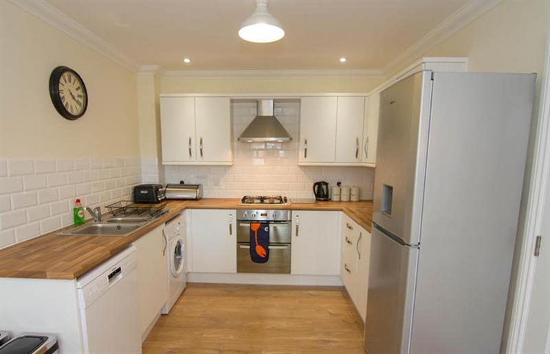 The kitchen at Apartment 5 (Staithe Place), Wells-next-the-Sea, Norfolk