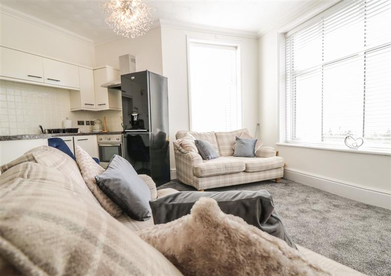 The living room at Apartment No6, Rhos-On-Sea