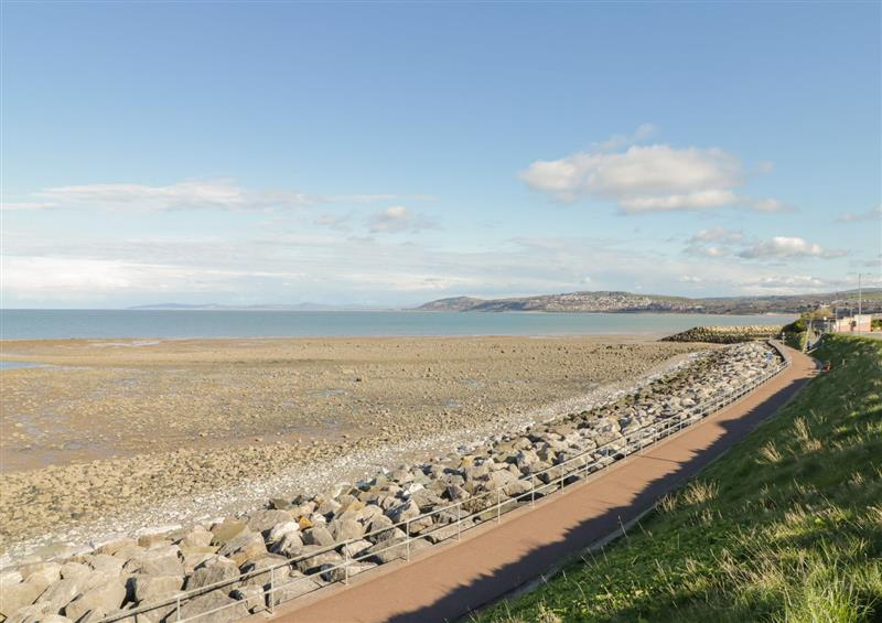 The setting of Apartment No6 at Apartment No6, Rhos-On-Sea