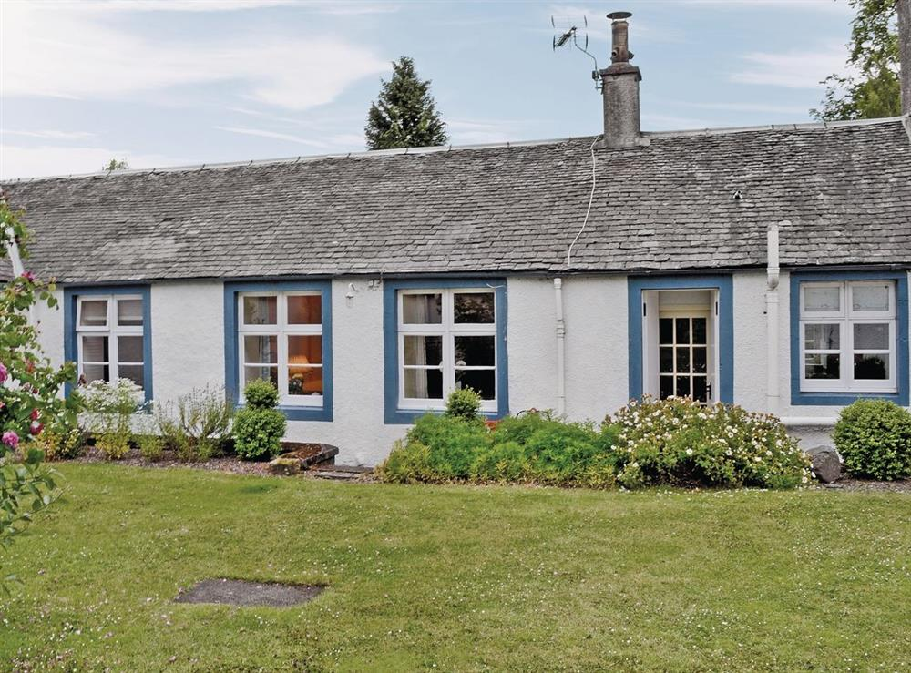 Exterior at Apple Cottage in Forgandenny, Perthshire
