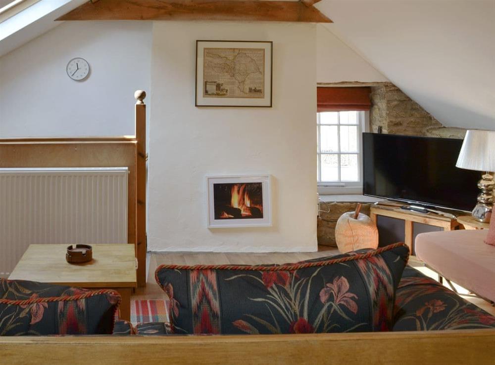 Living area at Apple Loft in Nordham, near Beverley, North Humberside