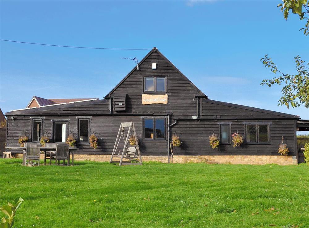 Fantastic large holiday property at Appletree Barn in Preston, near Canterbury, Kent