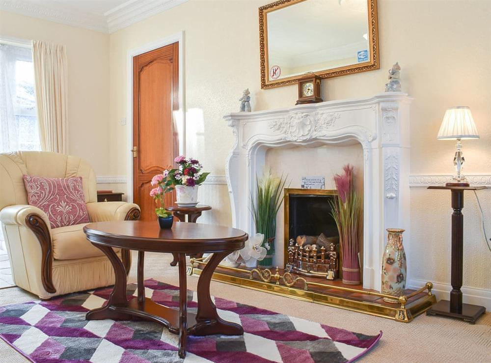 Living room at Appletree Cottage in Bridlington, East Riding, North Humberside