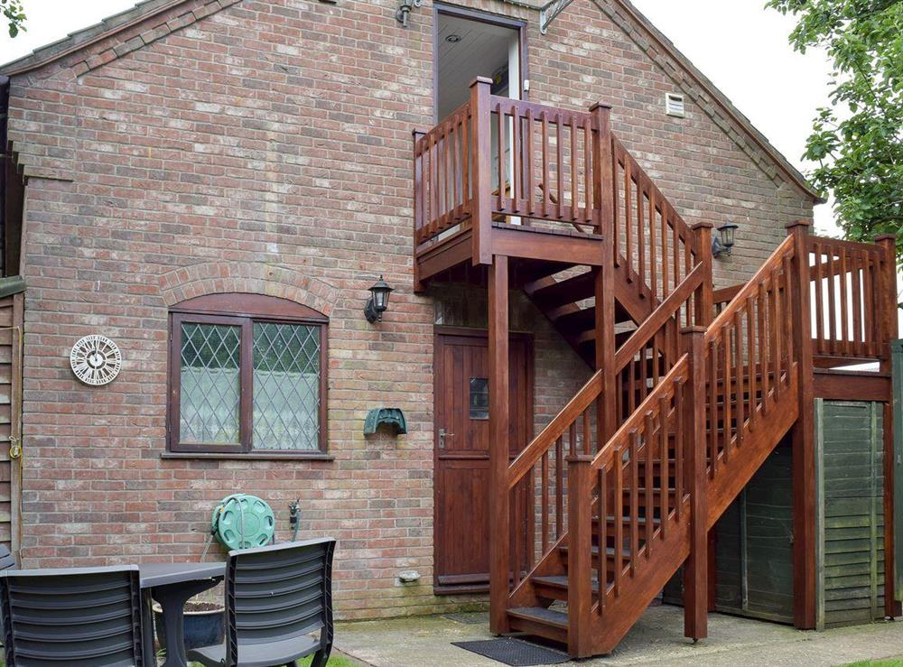 Delightful, detached first floor apartment at Appleview in Kirby Cane, near Lowestoft, Norfolk
