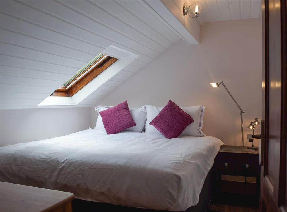 Double bedroom at Appleview in Kirby Cane, near Lowestoft, Norfolk