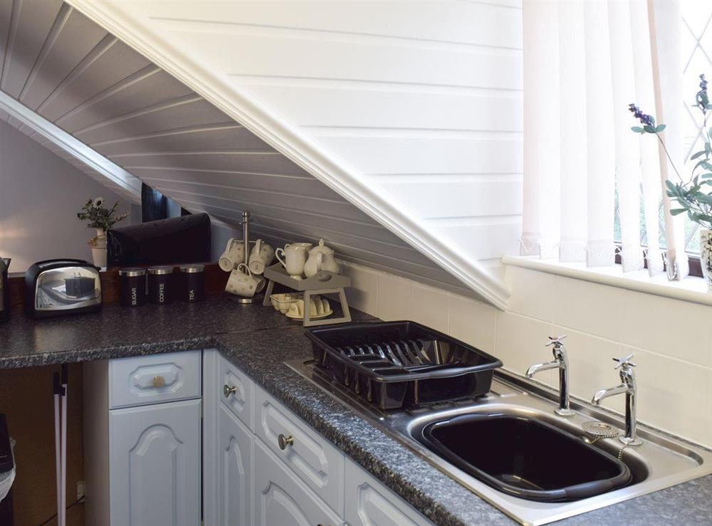 Kitchen at Appleview in Kirby Cane, near Lowestoft, Norfolk