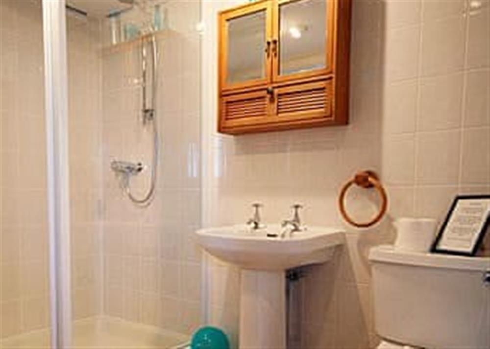 Bathroom at April Cottage in Clay Common, near Southwold, Suffolk