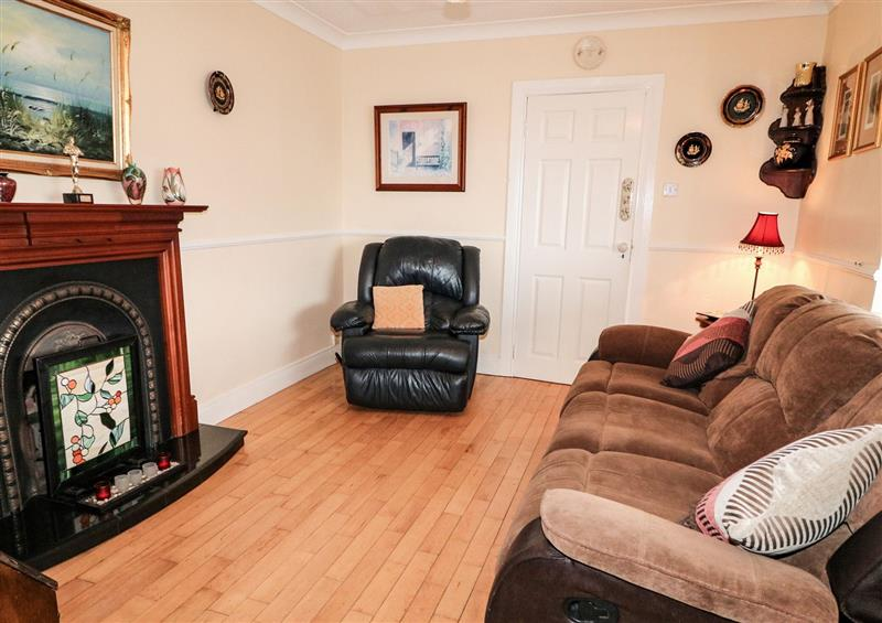 The living area at ARD MHUIRE, Derrybeg