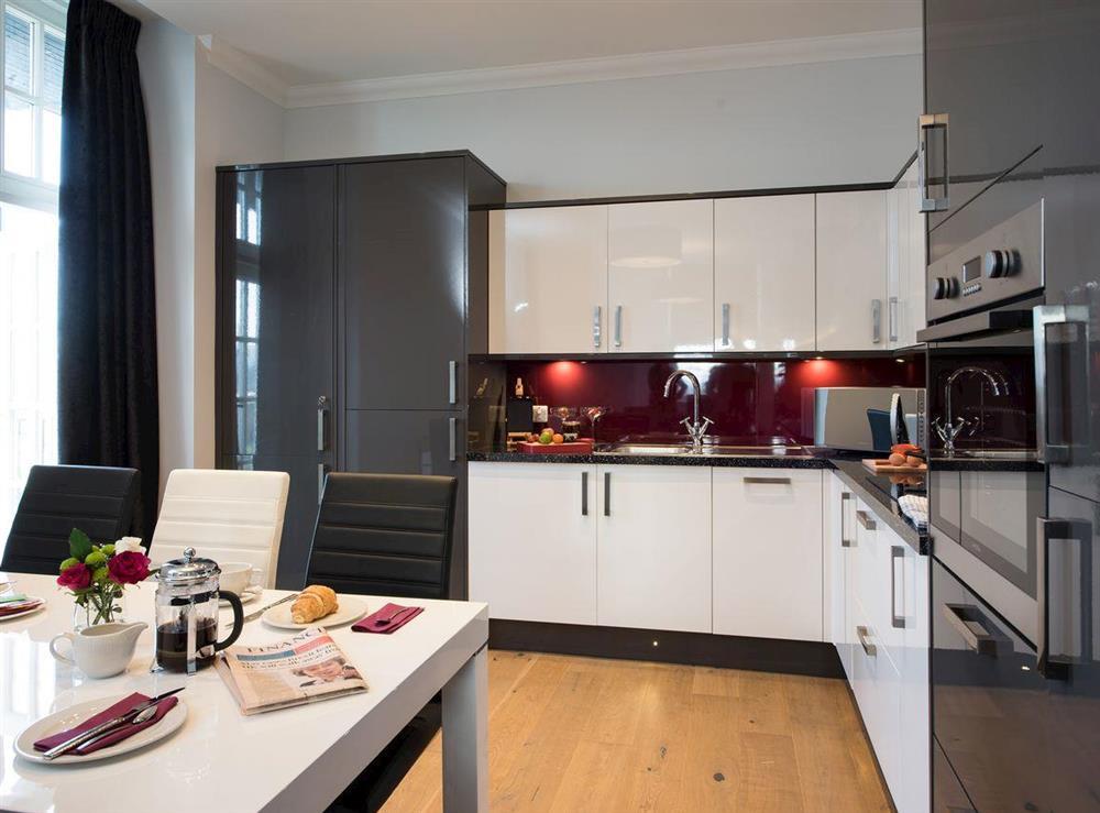 Contemporary open-plan design at Apartment 2,