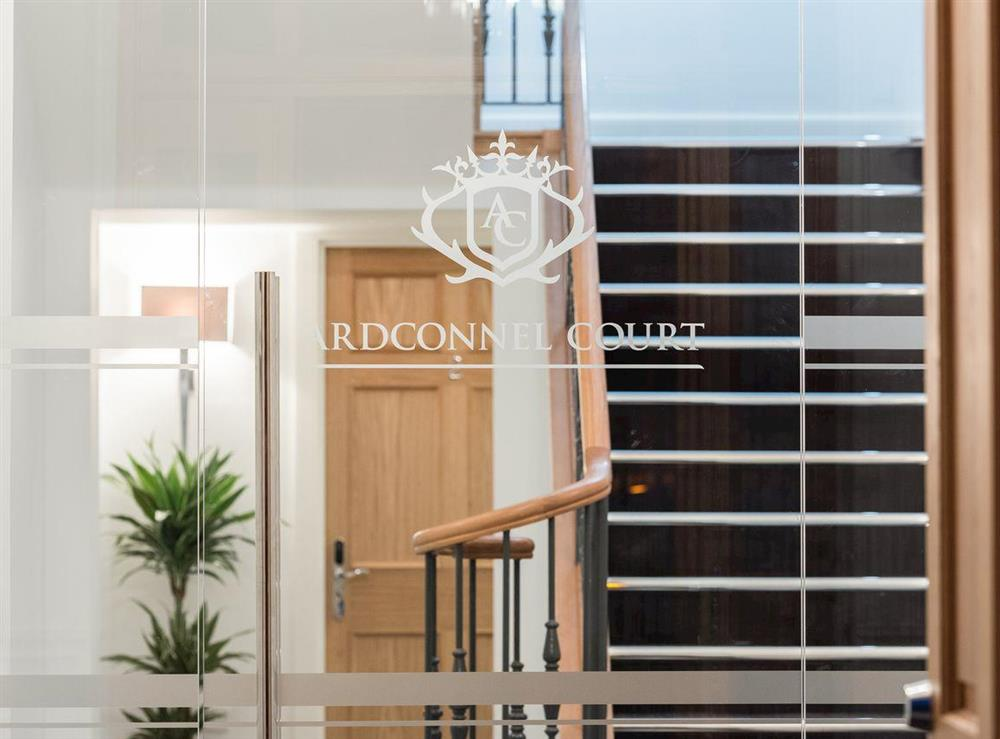 Contemporary entrance at Apartment 4,