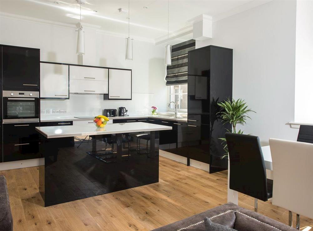 Fully appointed kitchen with 'island' at Apartment 4,